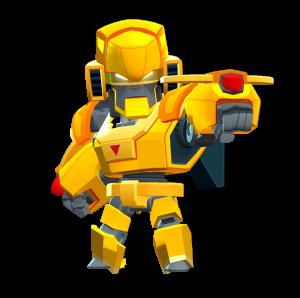 Skin do Bo Robô Dourado
