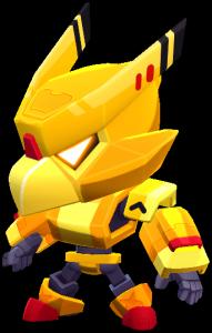 Corvo Robô Dourado