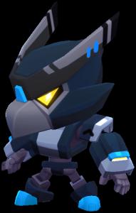 Corvo Robô Sombrio