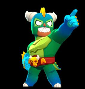 Skin do El Primo El Dragon Verde