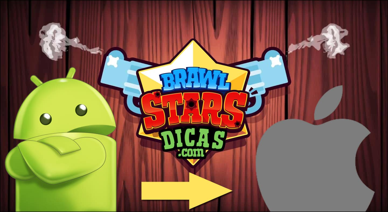 Transferir Brawl Stars de conta
