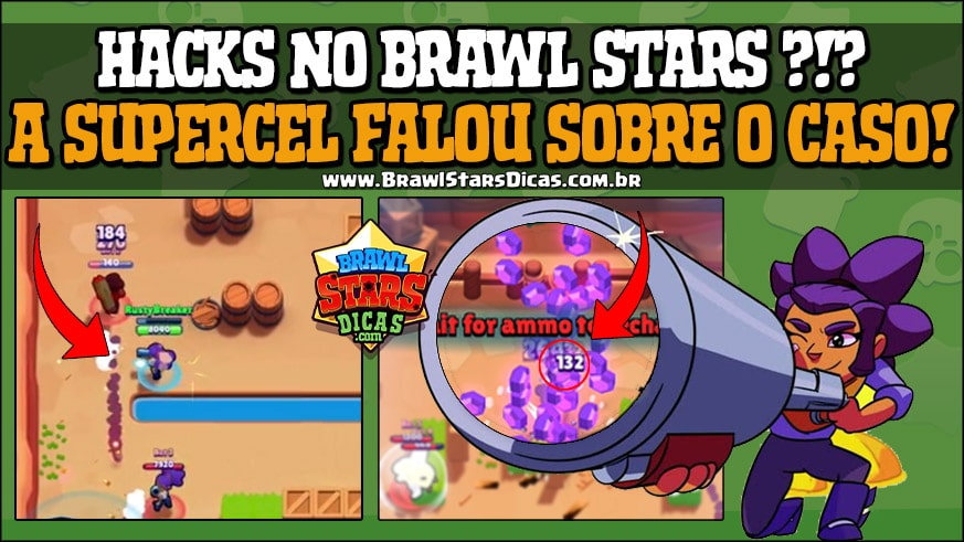 Supercell fala sobre Hack para Brawl Stars