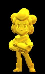 Skin da Shelly Dourada