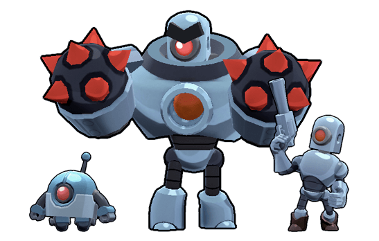 Melhores Brawlers Robo Rumble