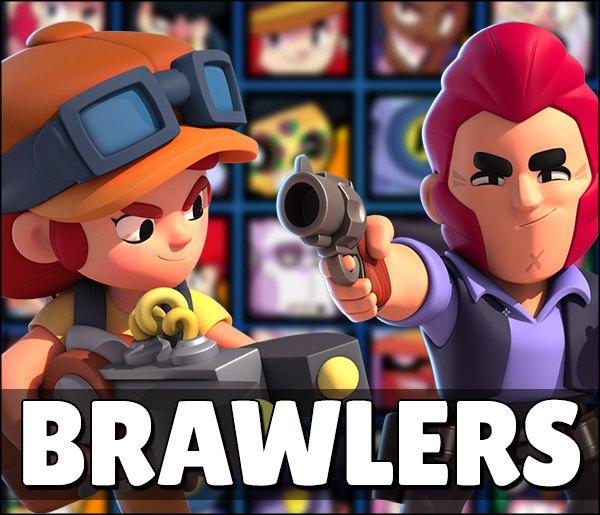 Todos Brawlers do Brawl Stars