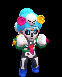 Skin da Rosa Esqueleto