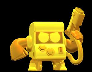 Skin do 8-BIT Dourado