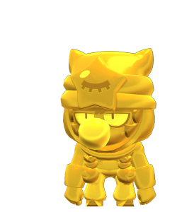 Skin do Sandy Dourado