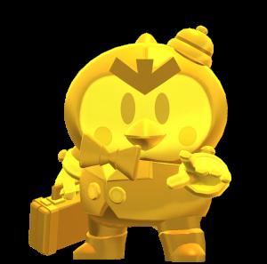 Skin do Mister P Dourado