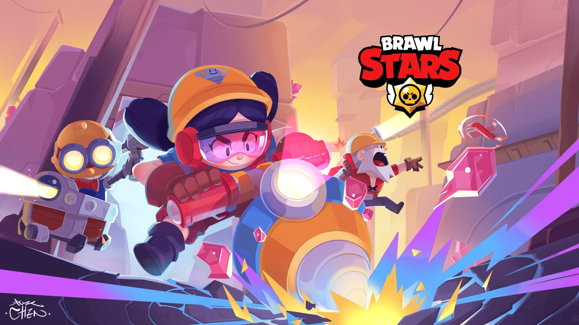 novo wallpaper de brawl stars para celular e pc  brawl