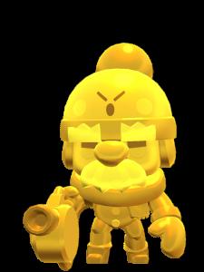 Skin do Gale Dourado