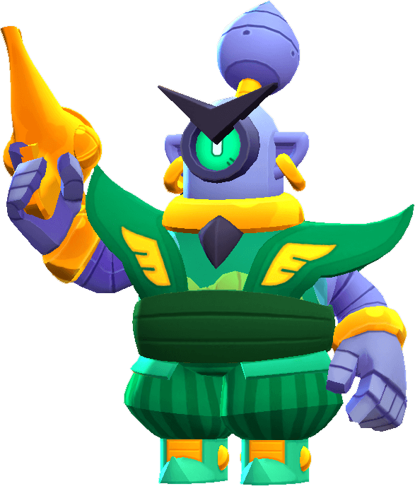 Visual Rico Guarda no Brawl Stars