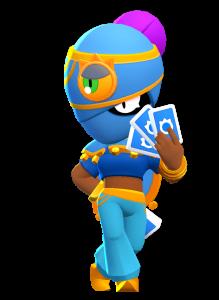 Skin da Tara Azul