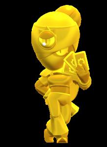 Skin da Tara Dourada