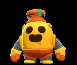 Skin do Spike Robô